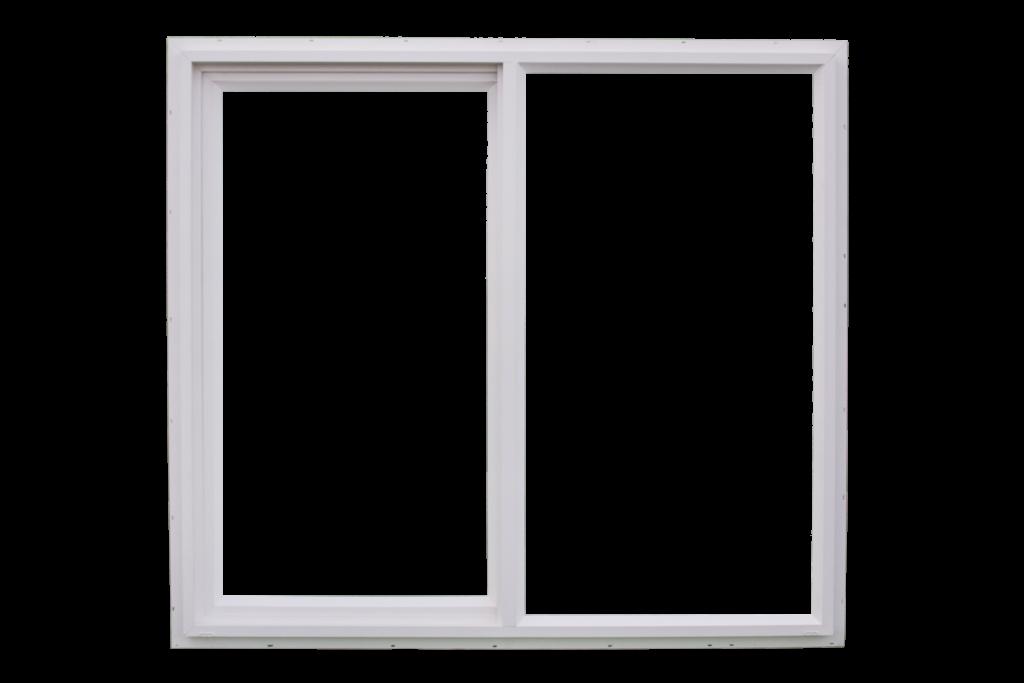 White sliding window